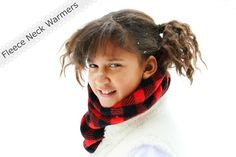 Happy At Home: Fleece Neck Warmers and a Tutorial