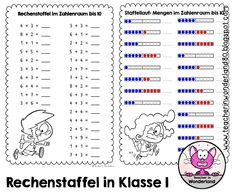 112 best Mathe arbeitsblätter images on Pinterest in 2018 | Primary ...