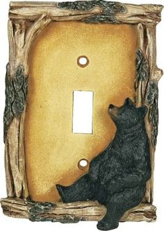 Cabela's: Bear Single Toggle Switch Electrical Cover
