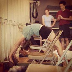 "11 Likes, 2 Comments - Adeline Yoga Studio (@adelineyogastudio) on Instagram: ""Anneke teaching #UrdhvaDanurasana www.AdelineYoga.com"""