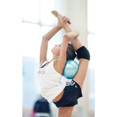 Arina, Dina Averina, Russia, creating new routines 2015