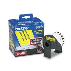 Brother Continuous Film Label Tape 2-3/7-inch x 50ft Roll