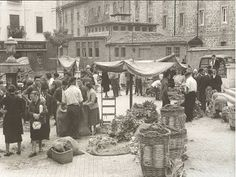Plaza de Los Guardias.  VITORIA INSOLITA, fotos antiguas de Vitoria-Gasteiz: Plaza de los Guardias