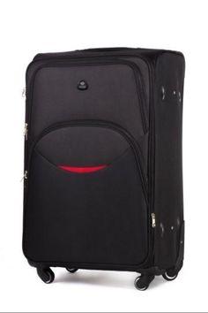 Walizka podróżna na kółkach duża XXL SOLIER Suitcase, Suitcases