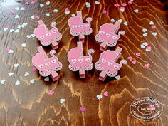 Clothespin Stroller Pink photo garland, display boards, baby shower decor,baby girls room decor, kids art display Engagement Party Decorations, Bridal Shower Decorations, Art Wall Kids, Art For Kids, Baby Girls, Photo Garland, Baby Girl Room Decor, Display Boards, Pink Photo