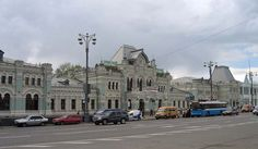 Moscow Rizhskaya railway station (Russian: Рижский вокзал, Rizhsky vokzal, Riga station) is one of the nine main railway stations in Moscow, Russia... Get more information about the Moscow Rizhskaya railway station on Hostelman.com #attraction #Russia #landmark #travel #destinations #tips #packing #ideas #budget #trips