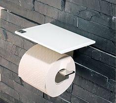 Black star granite tile and granite on pinterest Glass toilet roll holder