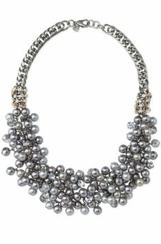 For the Bride- Isadora Pearl Bib Necklace.  www.stelladot.com/karimartin