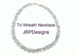 Tri-Wreath Necklace--Beading tutorial - YouTube