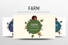 Farm by Good Pello on @creativemarket