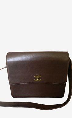 Chanel Dark Brown Shoulder Bag