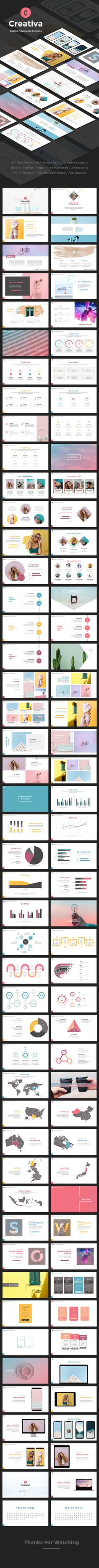 Buy Creativa Keynote by pixelbob on GraphicRiver. Features: Total Slides 400 Vector Icon Animated Template Smart and Innovative Presentation Slides Modern layouts. Best Powerpoint Presentations, Powerpoint Tips, Creative Powerpoint Templates, Powerpoint Presentation Templates, Keynote Template, Professional Presentation, Presentation Slides, Corporate Presentation, Graphic Design Pattern