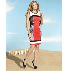 Host Pick 5/8Frank Lyman Knit Dress Jersey Knit Color Block Dress!  Available to order size 2-20!  In Stock 4,6,8. Frank Lyman  Dresses