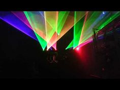 Mobile DJ lasers show