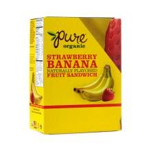 Shop Pure Organic Pure Organic Strawberry & Banana Fruit Bar Sandwiches…