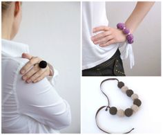 http://www.etsy.com/shop/BallClub Women textile natural Jewelry