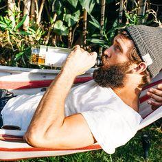 Booze beard man