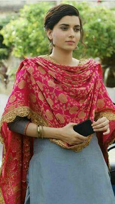 Indian Look, Indian Wear, Punjabi Fashion, Indian Fashion, Indian Suits, Indian Dresses, Nimrat Khaira Suits, Punjabi Girls, Punjabi Suits