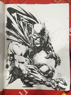 Batman Drawing, Batman Artwork, Batman Comic Art, Marvel Drawings, Joker Art, Comic Drawing, Art Drawings Sketches, Batman And Batgirl, Superman