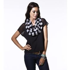 Stylish enough for Vanessa Hudgens, ash scarves are effortlessly fashionable for fall looks.