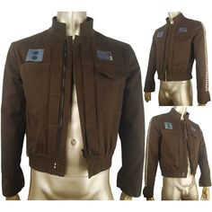 Rogue One: A Star Wars Story Captain Cassian cosplay jacket coat costume halloween costume sci-fi outfit x'mas gift for men boys everyday use