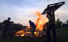 Stocking the Bonfire Photo Credit: Mike De Sisti