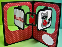 Looking for a way to wow teacher? Make this Charming Thanks Teacher Pop-Up Card!