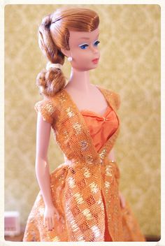 Vintage Barbie - Swirl Ponytail Barbie - Titian