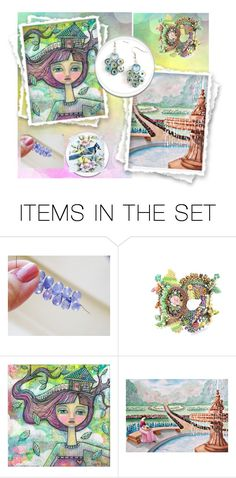 """""""Spring Flashback"""" by jarmgirl ❤ liked on Polyvore featuring art"""