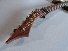 HEAD - Peruzzo custom guitars - blackmachine b6 tribute