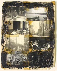 Burroughs' pictorial cut-ups