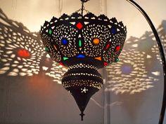 Brass & Glass Lantern