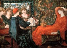 Laus Veneris - Burne-Jones Edward