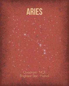 Aries constellation ★ http://www.simplysunsigns.com/