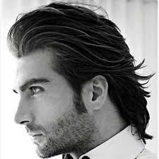 Image Result For Curly Slick Back Long Hair Mens Hairstyles Thick Hair Thick Hair Styles Long Hair Styles Men