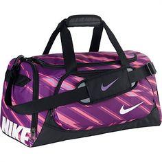 Sports Bags & Backpacks - Rebel Sport - Nike Junior Ya Tt Duffle Purple/Black Small