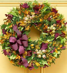 Provence Garden Wreath