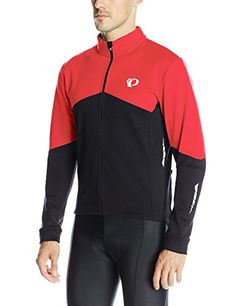Pearl Izumi - Ride Men's Elite Thermal Long Sleeve Jersey, Large, True Red/Black >>> Find out more about the great product at the image link.