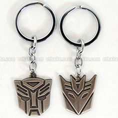 Transformers Keychains