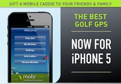 Mobitee GPS Golf App Update Now Available for IPhone 5.