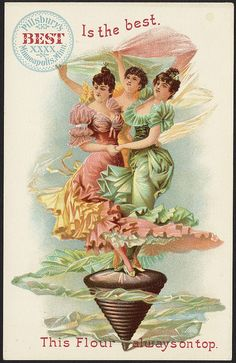 Pillsbury's Best is the best .This flour is always on top. [front] | Flickr - Photo Sharing! Hole giant set of baking trade cards. BPL