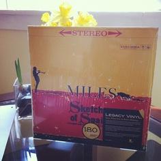Mornings with #MilesDavis #sketchesofspain #vinyl