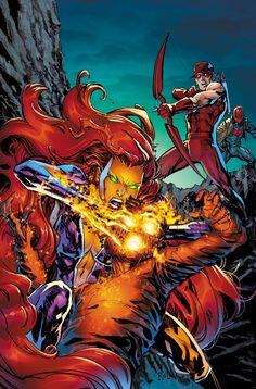 DC comics - Starfire