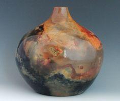 Wood Fired vase, Cynthia McDowell