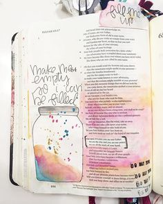 Isaiah 63 What are you filling your life with? .Tonight while doing my quiet time @sidewalkprophets song,