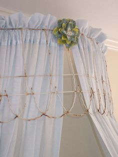 old wire fence canopy idea