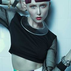 Neon Pop by Maria Unali | See the full #hair collection at salonmagazine.ca