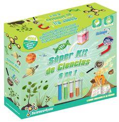Super kit de Ciencias 6 en 1  Los juegos de experimentos y ciencia de Science4you  www.conlosninosenlamochila.com