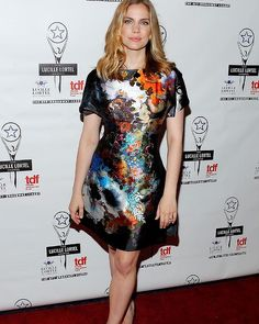 Anna Chlumsky at the Lucille Lortel Awards - A dress that says WOW!
