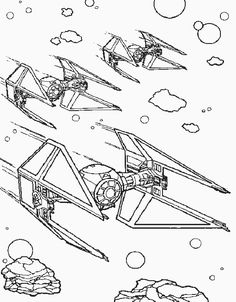 Star wars episodes Star Wars and Coloring pages on Pinterest